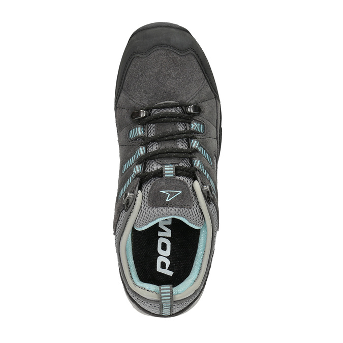 Dámske kožené Outdoor topánky power, šedá, 503-2118 - 19