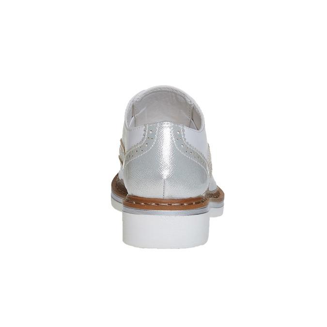 Detské poltopánky s kamienkami mini-b, strieborná, 321-2246 - 17