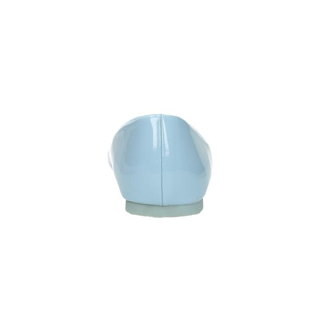 Svetlomodré dámske baleríny bata, modrá, 521-9602 - 17