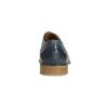 Modré kožené poltopánky bata, modrá, 826-9801 - 17