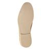 Ležérne kožené poltopánky bata, hnedá, 823-3602 - 26