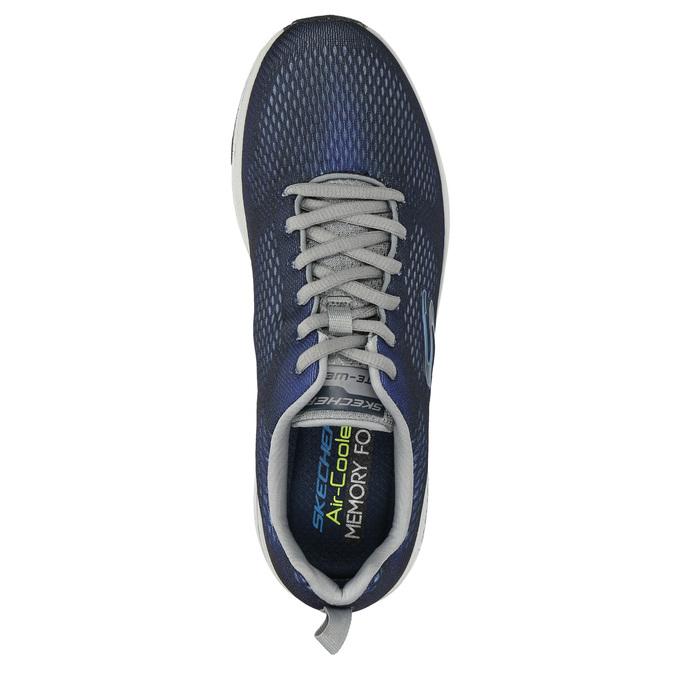 Pánske tenisky s pamäťovou penou skechers, modrá, 809-9141 - 19