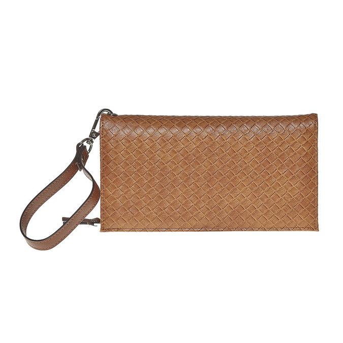 Dámska peňaženka s pútkom bata, hnedá, 941-3148 - 26
