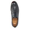 Tmavomodré kožené poltopánky bata, modrá, 824-9907 - 19