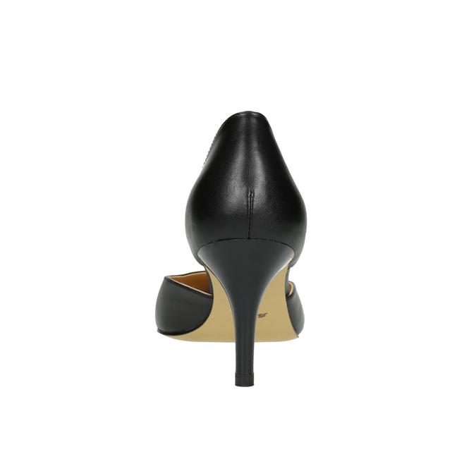 Lodičky na ihličkovom podpätku bata, čierna, 624-6631 - 17