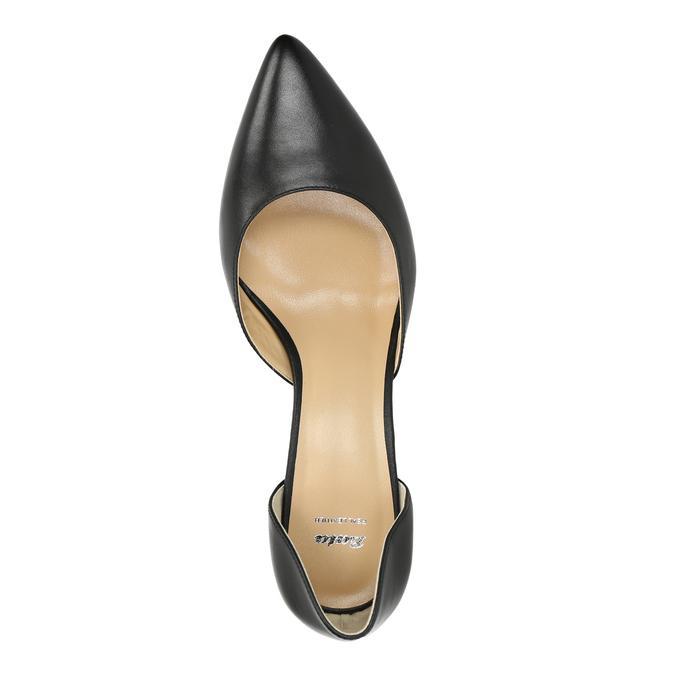 Lodičky na ihličkovom podpätku bata, čierna, 624-6631 - 19