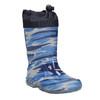 Detské gumáky so vzorom mini-b, modrá, 192-9110 - 13