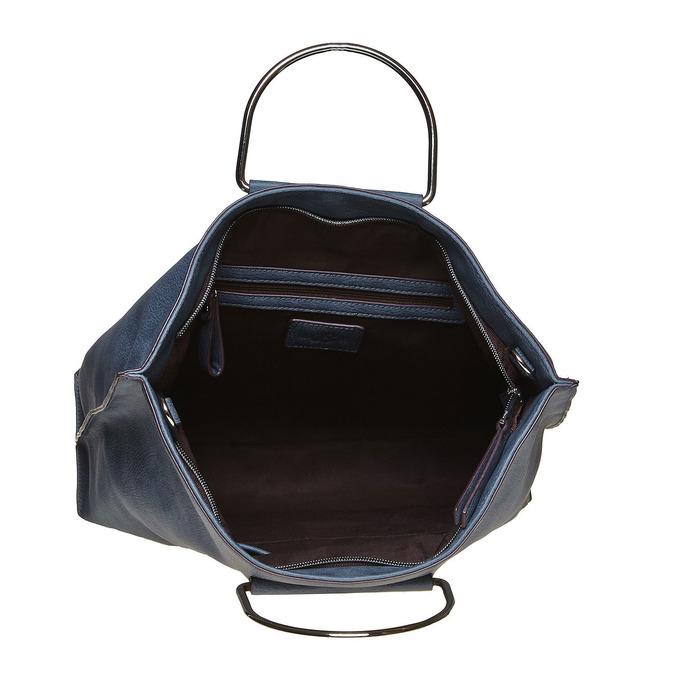 Modrá dámska kabelka bata, modrá, 961-9327 - 15