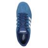 Modré kožené tenisky adidas, modrá, 803-9922 - 19