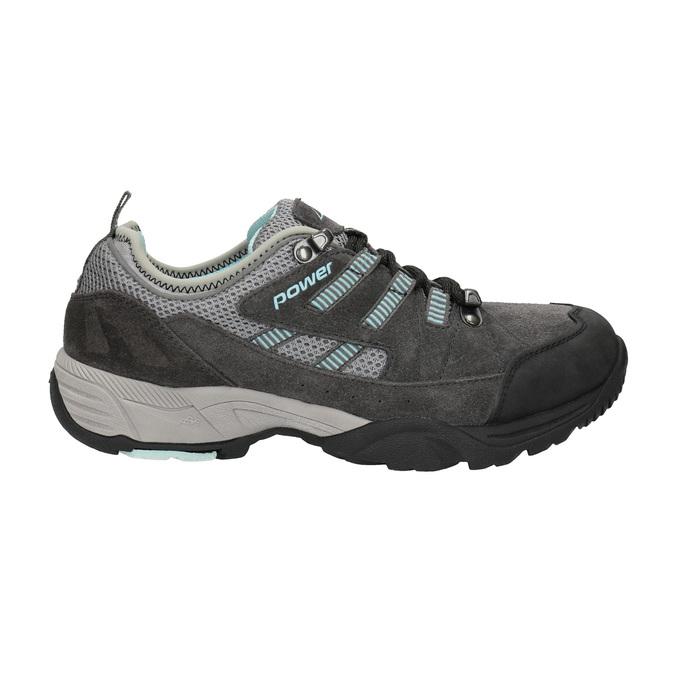Dámske kožené Outdoor topánky power, šedá, 503-2118 - 15
