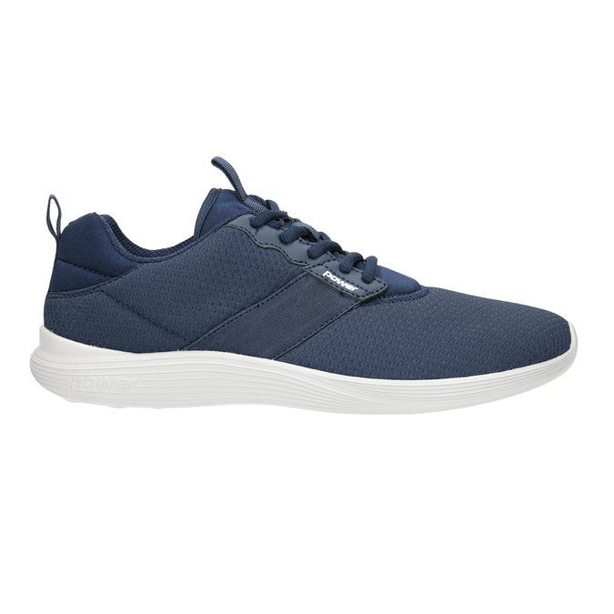 Modré pánske tenisky power, modrá, 809-9175 - 15