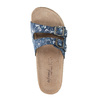 Dámska domáca obuv de-fonseca, modrá, 571-9600 - 19