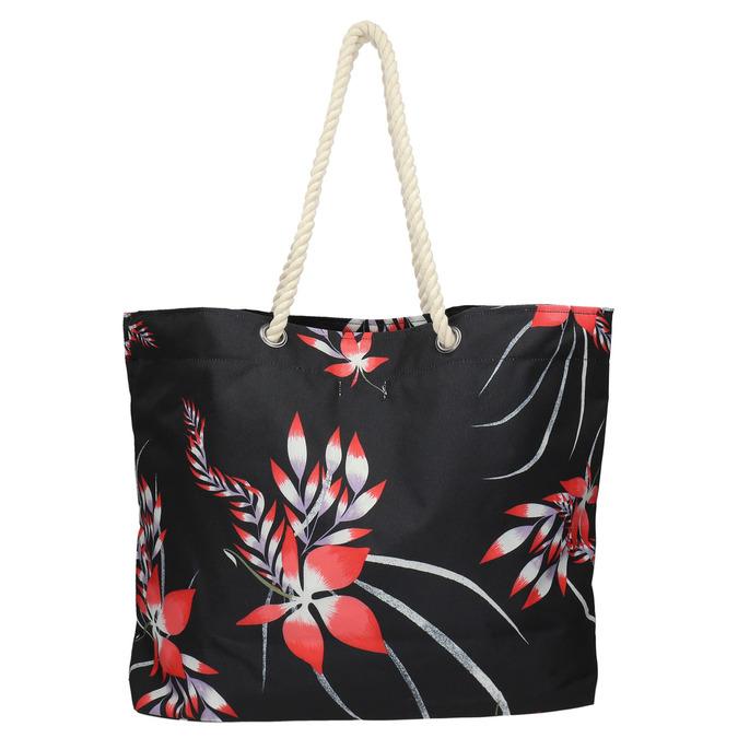 Plážová taška roxy, čierna, 969-6059 - 26