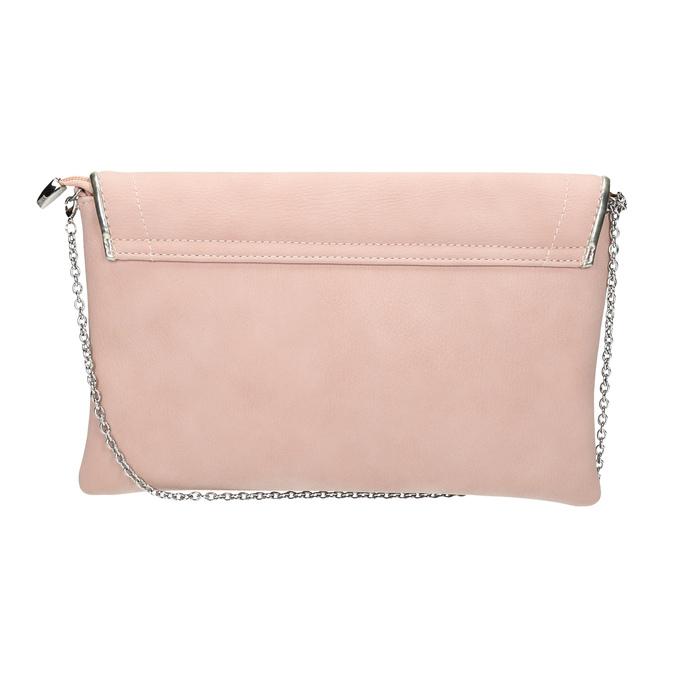 Ružová listová kabelka bata, ružová, 961-5708 - 19