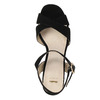 Dámske sandále na masívnom podpätku bata, čierna, 769-6602 - 19