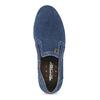 Slip-on z brúsenej kože weinbrenner, modrá, 833-9601 - 17