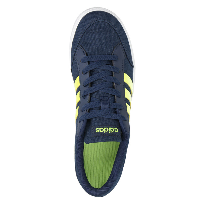 Chlapčenské modré tenisky adidas, modrá, 489-8119 - 19