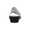Kožená domáca obuv comfit, biela, 674-1600 - 17
