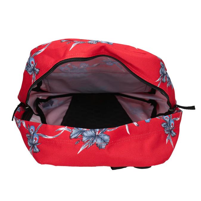 Červený batoh so vzorom vans, červená, 969-5093 - 15