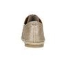 Dámske kožené poltopánky bata, béžová, 526-8629 - 17