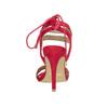 Červené sandále na ihličkovom podpätku bata, červená, 769-5603 - 17