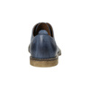 Modré kožené poltopánky bata, modrá, 826-9601 - 17