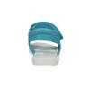 Dievčenské tyrkysové sandále mini-b, 261-9688 - 17