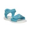 Dievčenské tyrkysové sandále mini-b, 261-9688 - 13