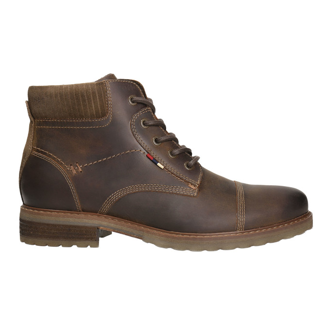 Pánska zimná obuv bata, hnedá, 894-4644 - 15