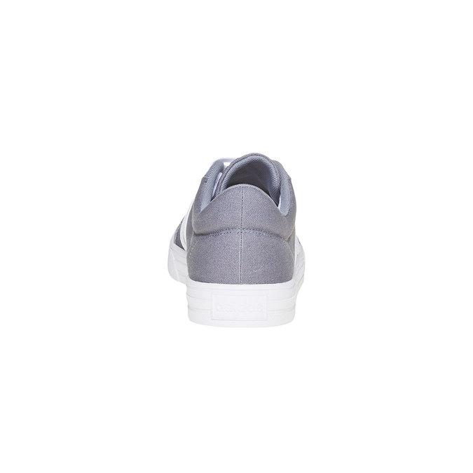 Šedé pánske tenisky adidas, šedá, 889-2235 - 17