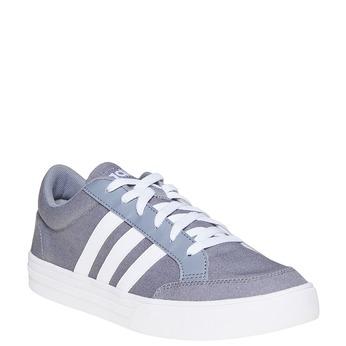 Šedé pánske tenisky adidas, šedá, 889-2235 - 13