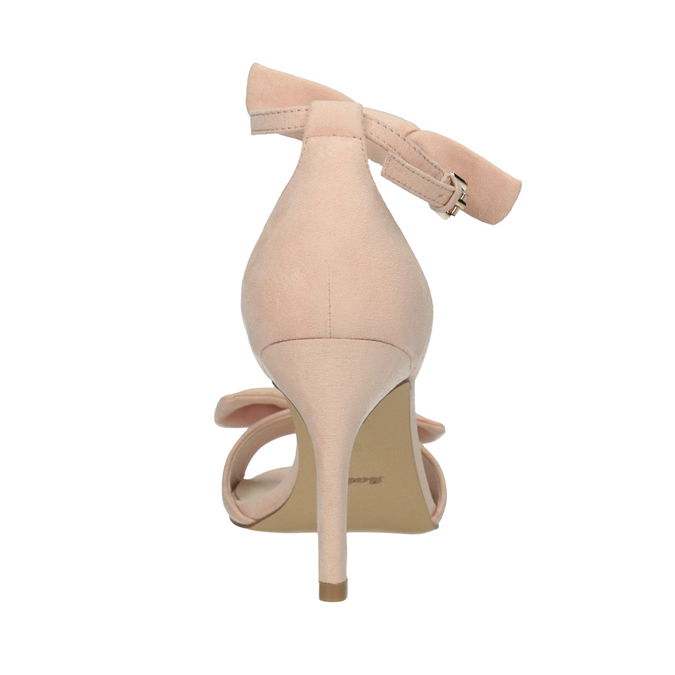 Dámske sandále s mašľou insolia, ružová, 769-5614 - 17