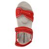 Červené kožené dámske sandále weinbrenner, červená, 566-5608 - 19