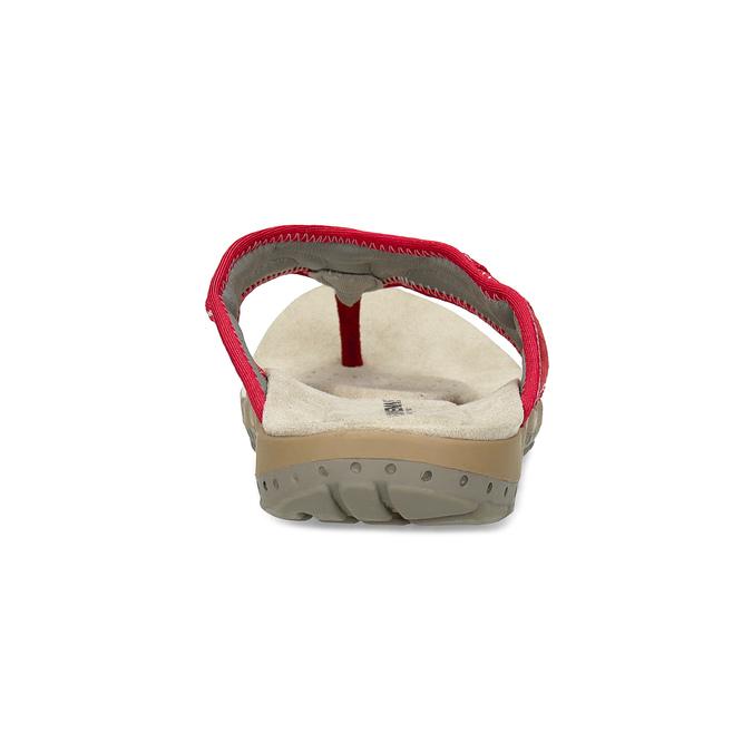 Dámske žabky v športovom štýle weinbrenner, červená, 566-5611 - 15