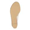 Dámske sandále na korkovej platforme insolia, biela, 761-1611 - 26