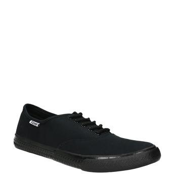 Čierne pánske tenisky tomy-takkies, čierna, 889-6227 - 13