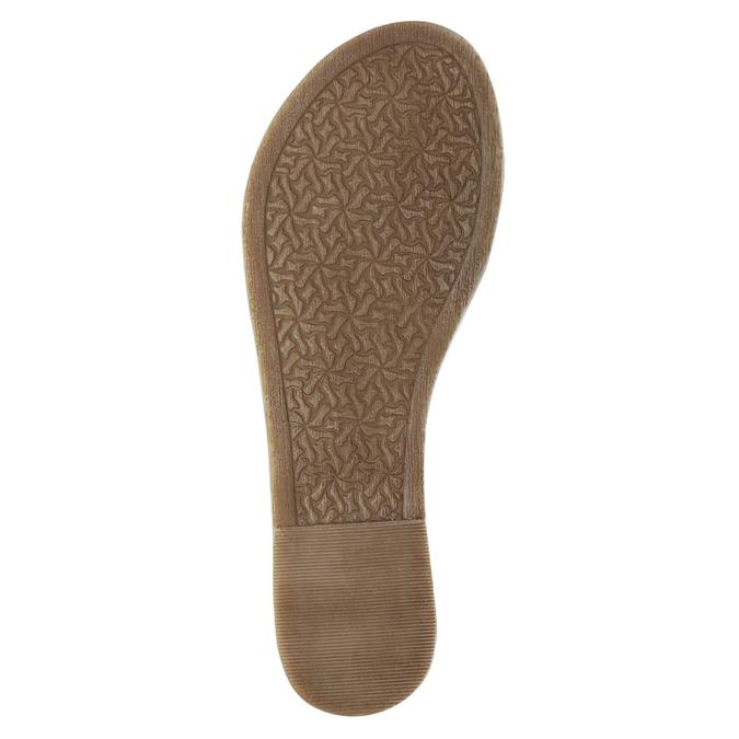 Čierne kožené sandále bata, čierna, 564-6600 - 26