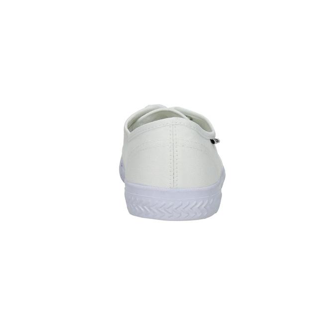 Biele ležérne tenisky tomy-takkies, biela, 889-1227 - 17