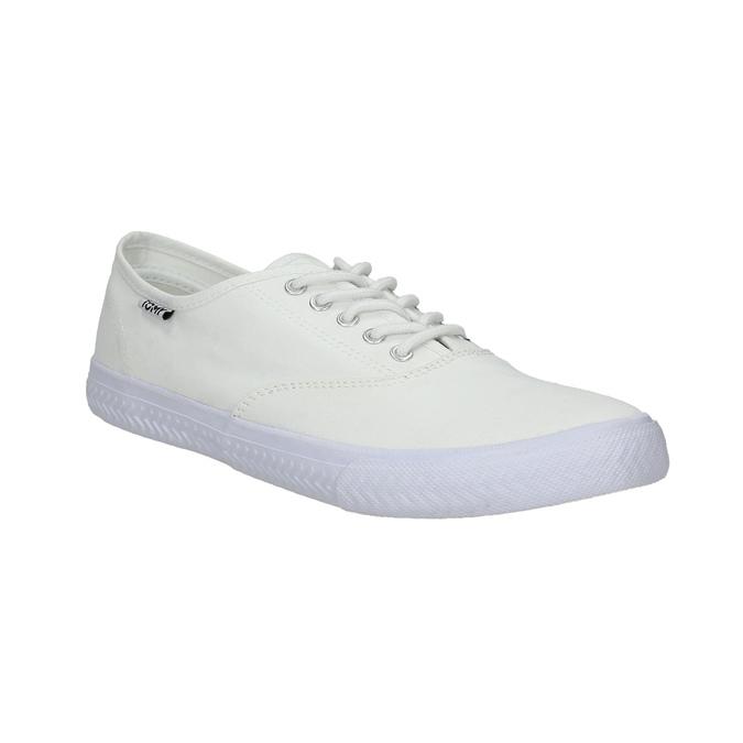 Biele ležérne tenisky tomy-takkies, biela, 889-1227 - 13