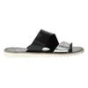 Dámske kožené nazuváky bata, čierna, 566-1614 - 15