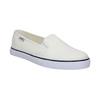 Dámska obuv v štýle Slip-on tomy-takkies, biela, 589-1171 - 13