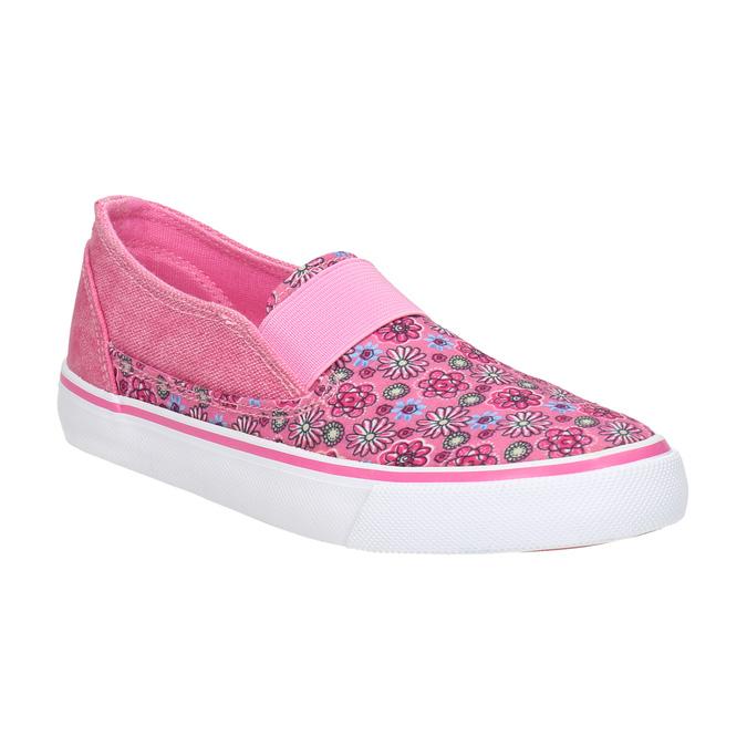 Dievčenské Slip-on so vzorom mini-b, ružová, 329-5611 - 13
