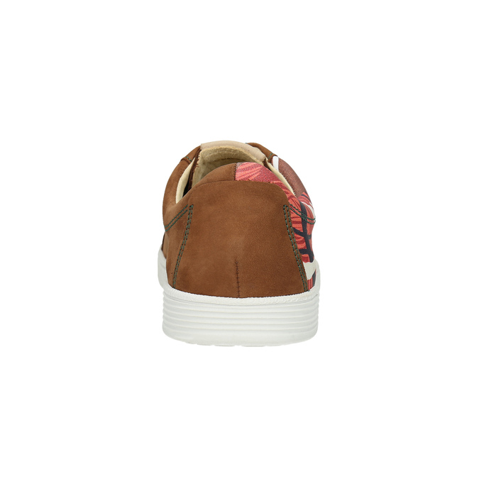 Kožené tenisky z limitovanej edície bata, hnedá, 846-4800 - 17