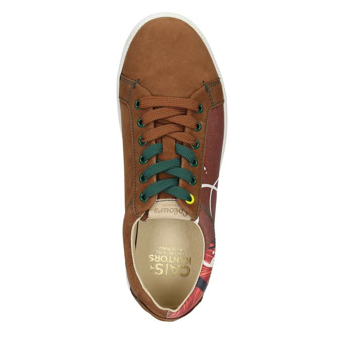 Kožené tenisky z limitovanej edície bata, hnedá, 846-4800 - 26