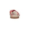 Kožené dámske žabky bata, červená, 566-5607 - 17