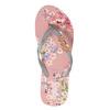 Kvetinové dámske žabky pata-pata, ružová, 572-2600 - 26
