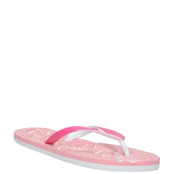 Ružové dámske žabky pata-pata, ružová, 572-5601 - 13