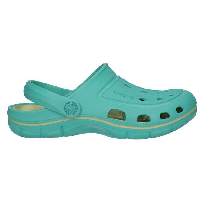 Tyrkysové dámske sandále coqui, 572-9606 - 15