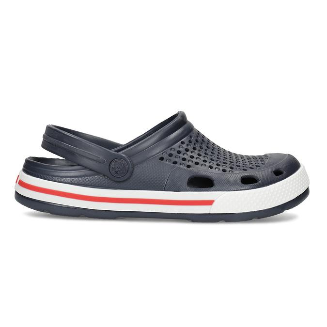 Dámske sandále typu Clogs coqui, modrá, 572-9611 - 19