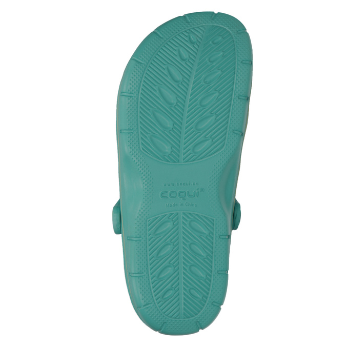 Tyrkysové dámske sandále coqui, 572-9606 - 19